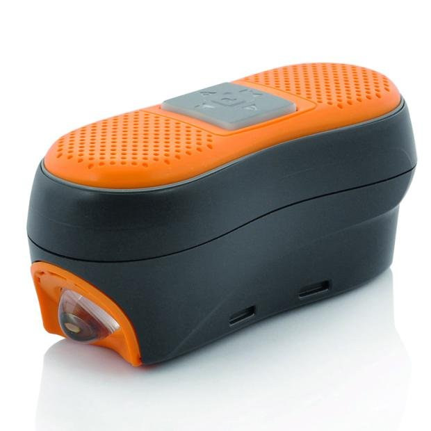 Bluetooth Hands Free Receiver and LED Head Light. Cena: 42 euro