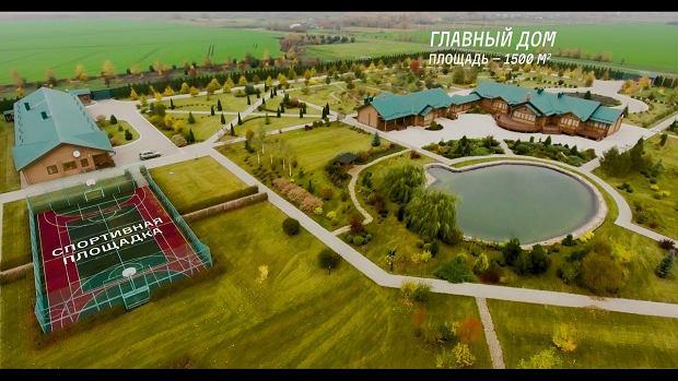 Skromniejsza rezydencja Miedwiediewa  w Mansurowie