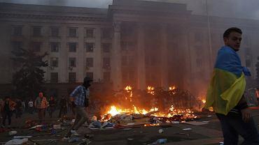 2 maja ubiegłego roku w Odessie po zamieszkach zginęło 48 osób