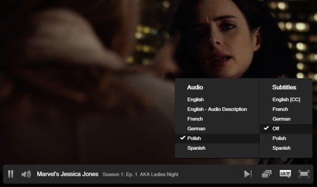 Netflix po polsku