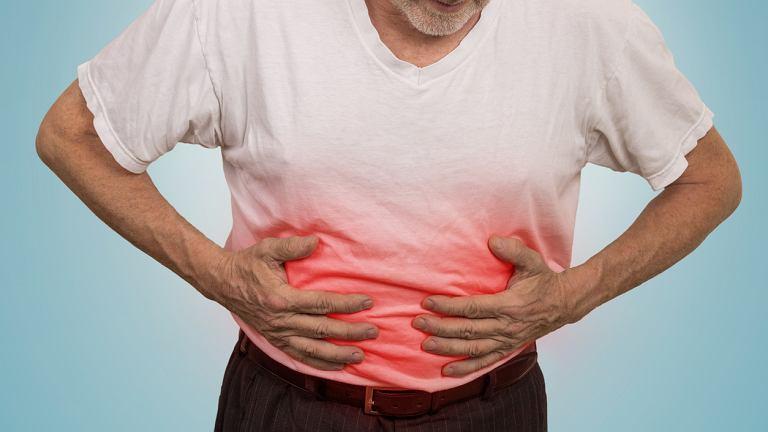 Rak żołądka najczęściej występuje u osób po pięćdziesiątym roku życia