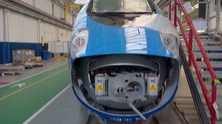 Budowa pociągu pendolino dla PKP Intercity we włoskim Savigliano