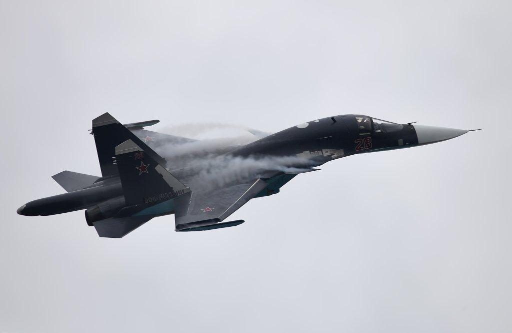 Su-34 na pokazie MAKS Airshow 2013 (Ramienskoje), Russia