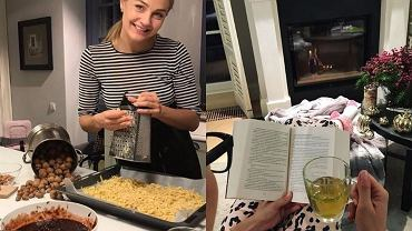 Małgorzata Socha rzadko pokazuje na Instagramie, jak mieszka. Jednak na tych zdjęciach, którymi się pochwaliła widzimy, że aktorka ceni ciepło domowego ogniska, przytulne wnętrza i nasiadówki przy kominku. Aż chce się w takim wnętrzu zostać na dłużej.