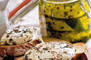 Pomys�owe dania z kozim serem