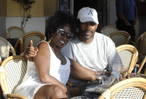 Denzel Washington i Pauletta Pearson