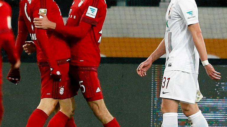 Robert Lewandowski i Thomas Mueller