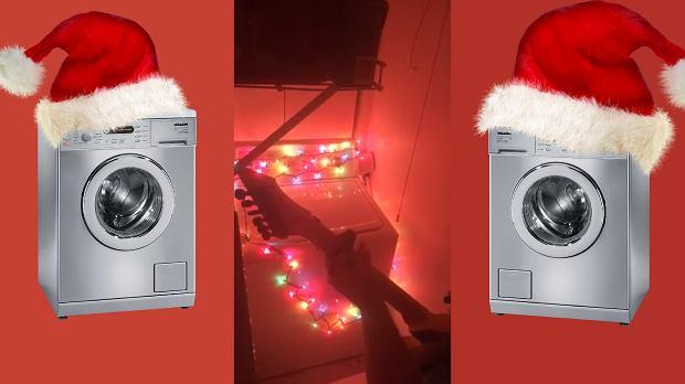 Jingle Bells zagrane na pralce