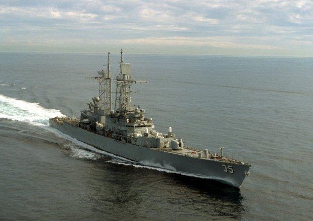 Ameryka�ski niszczyciel rozpocz�� �wiczenia na Morzu Czarnym