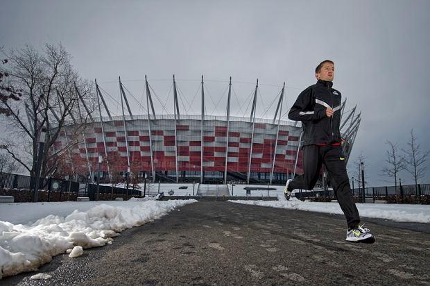 Henryk Szost - najlepszy Polski marato�czyk, rekordzista Polski w maratonie jest twarz� Orlen Warsaw Marathon