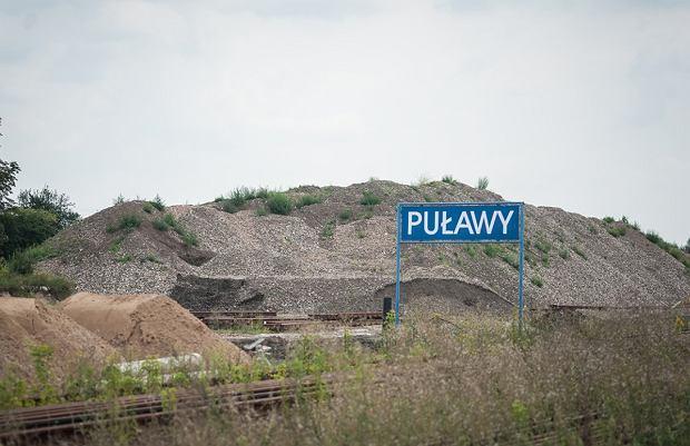 Modernizacja linii kolejowej nr 7 między Warszawą i Lublinem. Odcinek w okolicach Puław