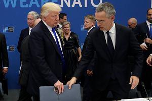 """Zgrzyt na szczycie NATO. Trump krytykuje sojuszników za zbyt niskie nakłady na zbrojenia: """"To nieuczciwe wobec amerykańskich podatników"""""""