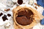 Ciasto gryczane z orzechami i czekolad�