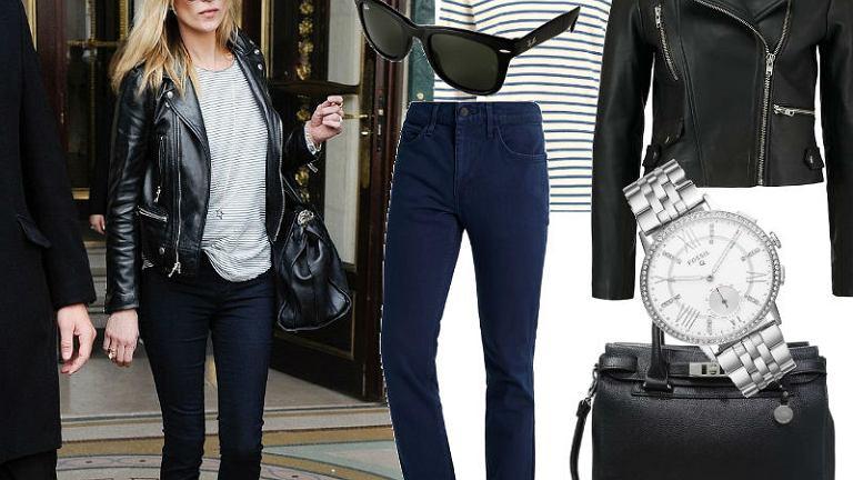 Te jeansy idealnie podkreślają nogi i pośladki.