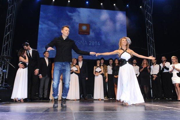 Rafał Brzozowski i Izabela Janachowska