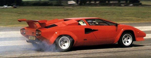 Lamborghini Countach   Dominacja byka!