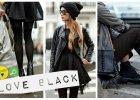 Czarne stylizacje - gotowe zestawy w mrocznym odcieniu