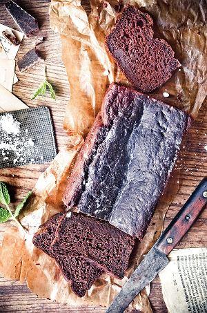 Ciasto buraczkowo-czekoladowe nakefirze