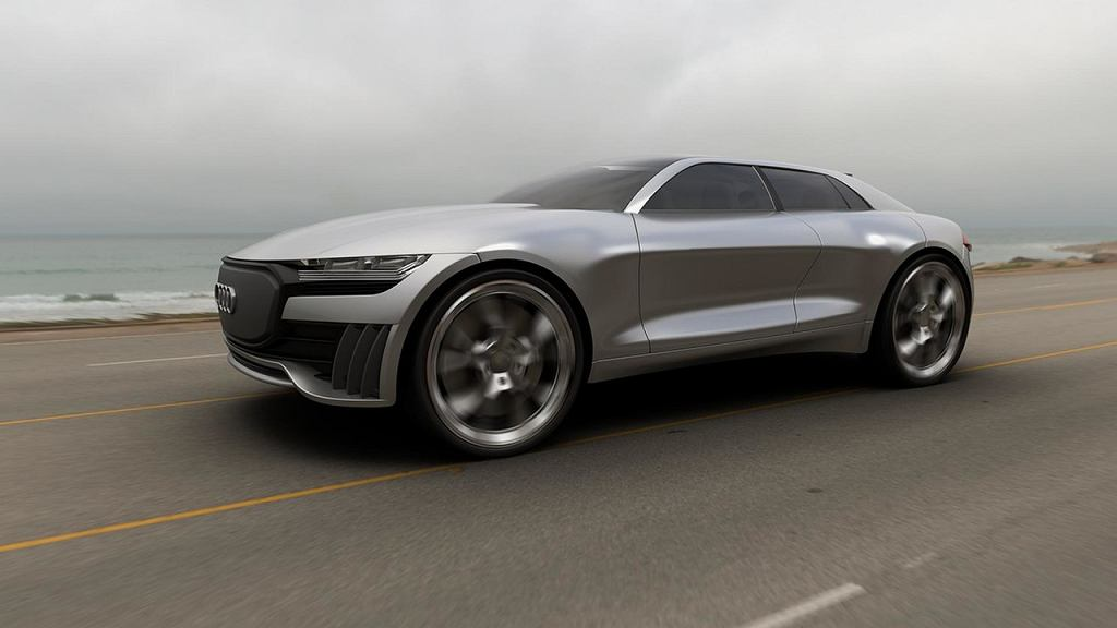 Wizualizacja Audi Q4 e-tron