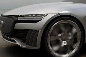 Audi Q4 E-Tron Concept - najpiękniejszy crossover zasilany prądem