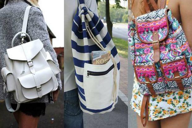 beea4fe44a77f Plecaki idealne do letnich stylizacji - najciekawsze modele