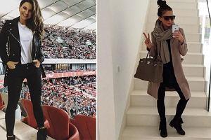 Anna Lewandowska nie tylko na sportowo - botki w stylu trenerki