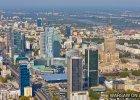 Warszawa z lotu ptaka. Niesamowite zdjęcia Macieja Margasa [FOTO/WIDEO]