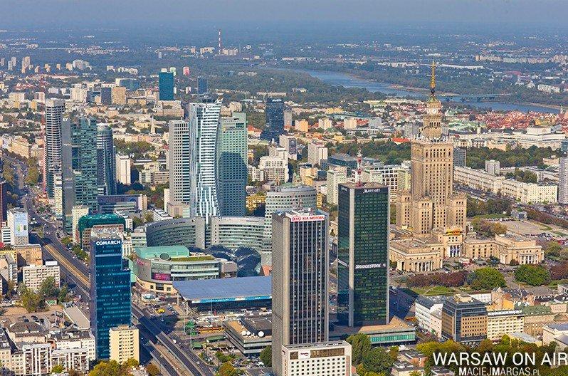 Warszawa Z Lotu Ptaka Niesamowite Zdjęcia Macieja Margasa