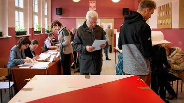 Głosowanie w wyborach samorządowych w Zabrzu, 2014 r.