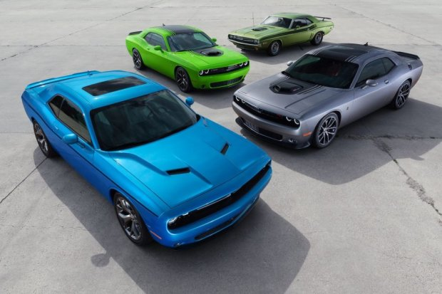 Salon Nowy Jork 2014   Dodge Challenger   Shaker
