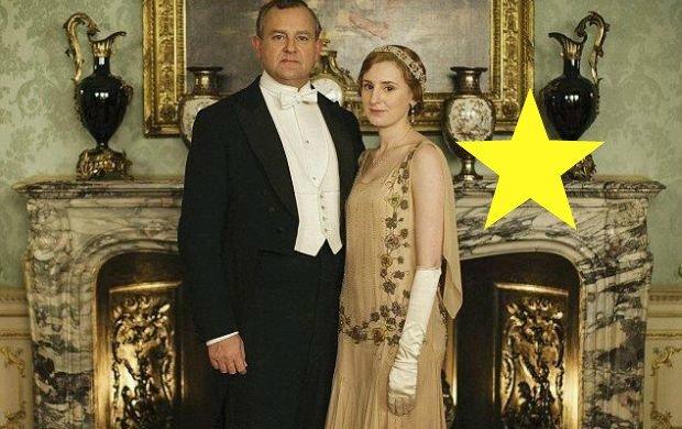"""""""Downton Abbey"""". Pierwsze zdjęcia promocyjne najpopularniejszego serialu w Wlk. Brytanii i TAKA wpadka"""