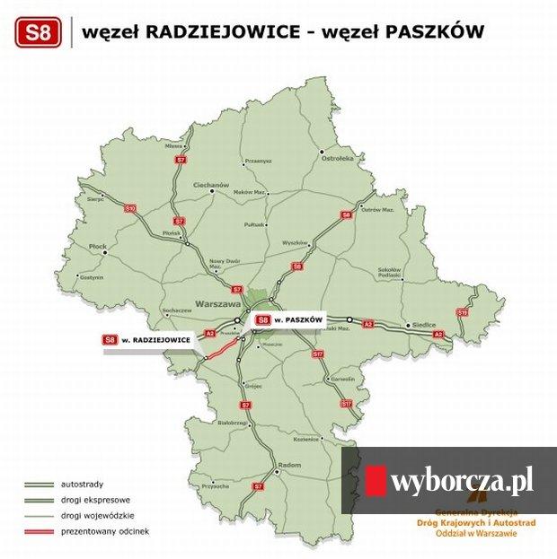 Droga S8 Pod Warszawa Podpisali Kontrakt Na Nowy Odcinek Wylotowki