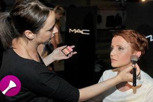 Makija�e M.A.C na finale Fashion Designers Awards - gwiazdorskie? [zdj�cia backstage]