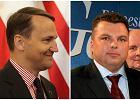 Marek Falenta i Rados�aw Sikorski
