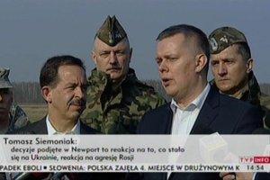 Siemoniak: Polska �yczy sobie obecno�ci ameryka�skich �o�nierzy
