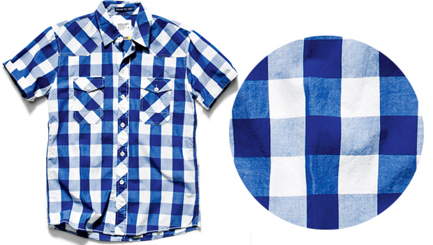 Koszule męskie: moda w kratkę, moda męska, koszule męskie, Koszula w kratkę Koszula w kratkę House bawełna, House