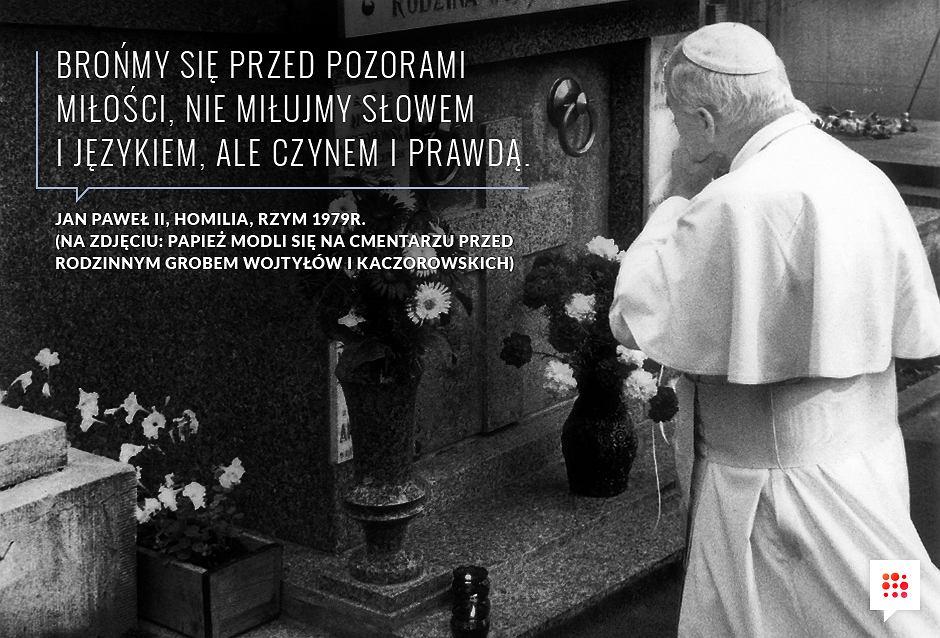 Cytat papieża Jana Pawła II