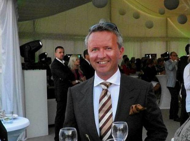 Christian Knutsen na otwarciu apartamentowca Dune w Mielnie