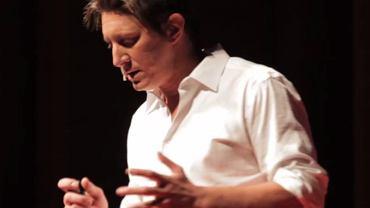 Josh Stanley podczas konferencji TEDx