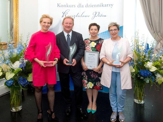 Od lewej: Margit Kossbudzka, Wojciech Moskal, Małgorzata Kolińska-Dąbrowska, Ewa Podolska