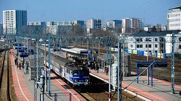 Dworzec Gdański w Warszawie.