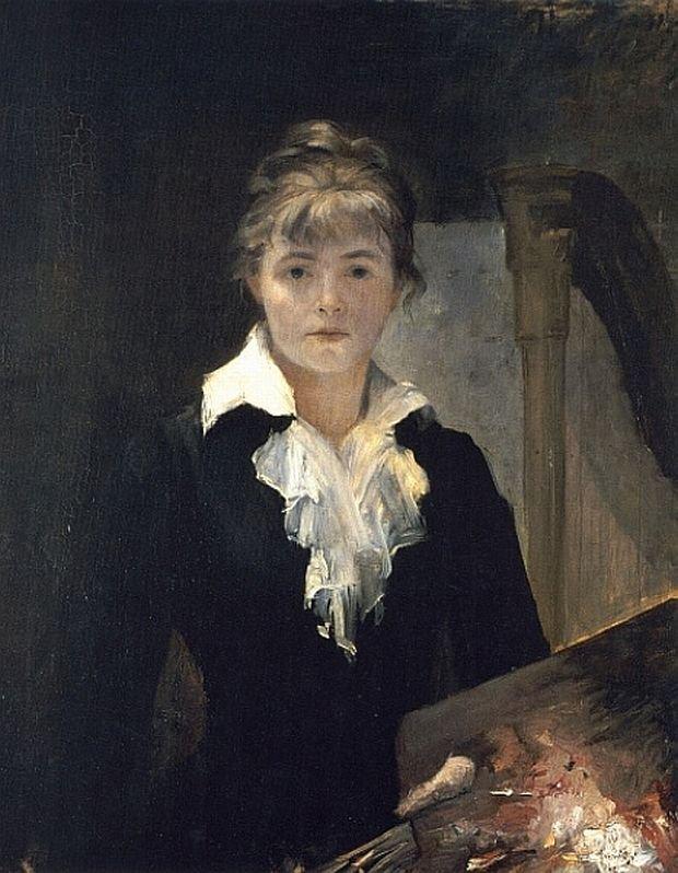 Autoportret z paletą, MAria Baszkircew (Wikimedia Commons CC BY 4.0)