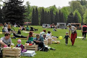 Park Śląski zaprasza na Śniadania na trawie. Od 6 maja co dwa tygodnie