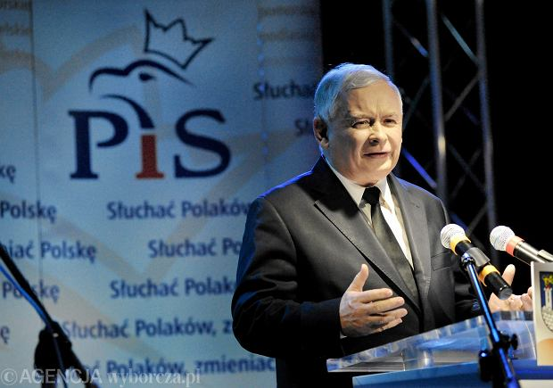 Jarosław Kaczyński w Częstochowie