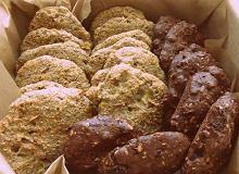 Owsiane ciasteczka z nerkowcami i rodzynkami - ugotuj
