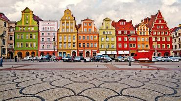 Polska Wrocław. Plac Solny we Wrocławiu / shutterstock