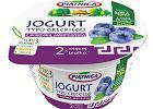 Nowy smak natury - owocowy jogurt typu greckiego o smaku borówki amerykańskiej od OSM Piątnica