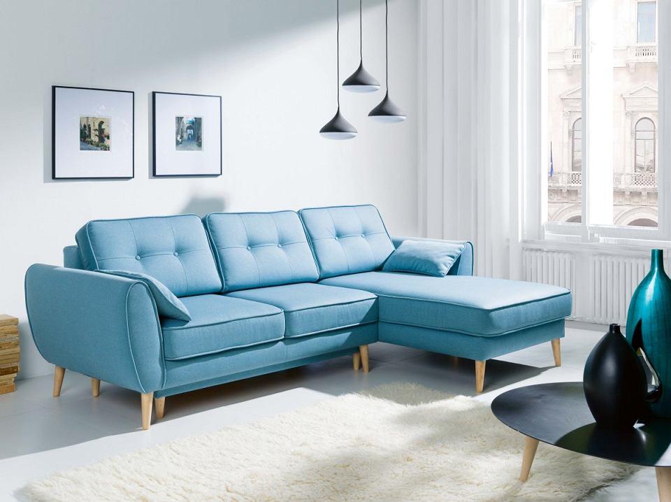 Sofa CANDY, pojemnik na pościel, tkanina do wyboru, 165 x 254 cm, wys. 89 cm, powierzchnia spania 121 x 212 cm, 2869 zł, Agata