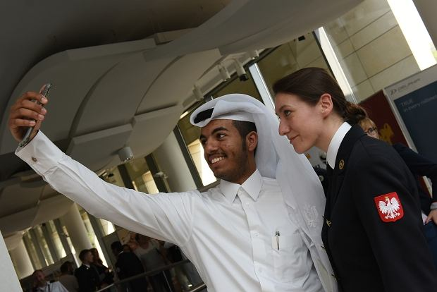 Arabscy studenci na Akademii Marynarki Wojennej w Gdyni