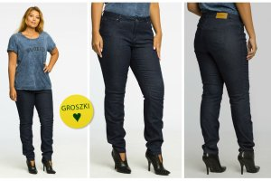 Idealne jeansy dla noszących rozmiar 42+